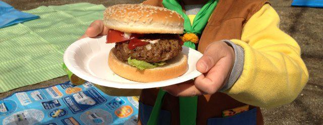 【合同集会】ハンバーガー作り