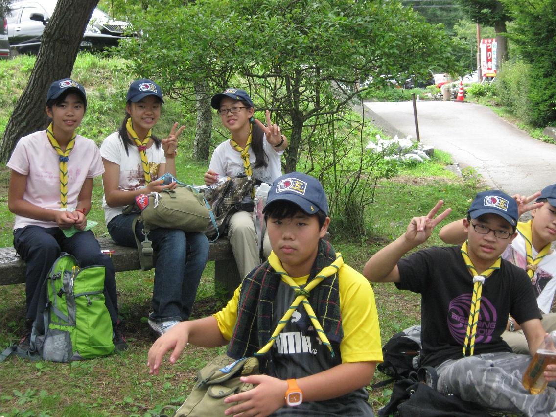 【ボーイ】夏キャンプ