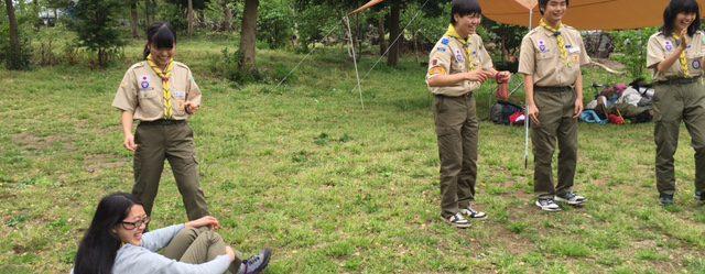 【ベンチャー】上進スカウト歓迎キャンプ in 中田の森