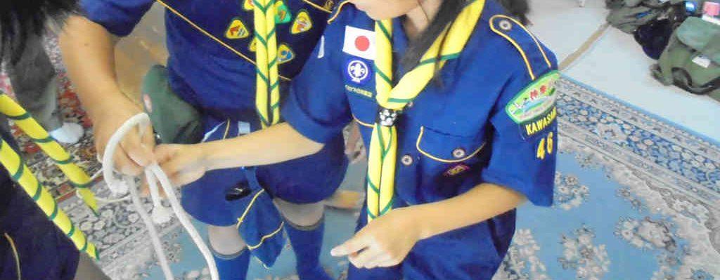 【カブ】隊集会(多摩区民祭準備)
