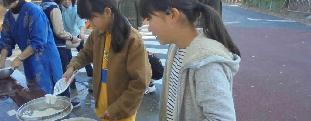【団行事】餅つき前日