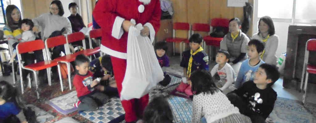 【カブ】ビーバー合同集会(クリスマス会)