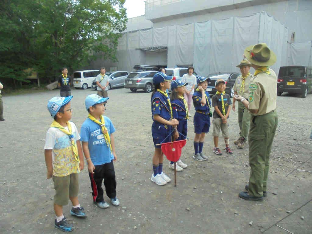 【ビーバー・カブ】夏キャンプ(46生田地球防衛軍)3日目