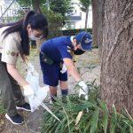 【団集会】スカウトの日(公園清掃)